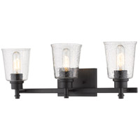 Z-Lite 464-3V-MB Bohin 3 Light 24 inch Matte Black Vanity Wall Light