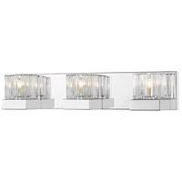Z-Lite 468-3V-CH Fallon 3 Light 22 inch Chrome Vanity Wall Light