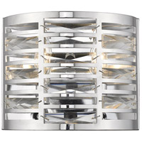 Z-Lite 469-2S-CH Cronise 2 Light 10 inch Chrome Wall Sconce Wall Light photo thumbnail