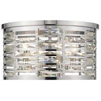 Z-Lite 469F4-CH Cronise 4 Light 16 inch Chrome Flush Mount Ceiling Light