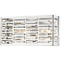 Z-Lite 470-2V-CH Cronise 2 Light 16 inch Chrome Vanity Wall Light