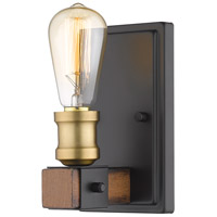Z-Lite 472-1S-RM Kirkland 1 Light 5 inch Rustic Mahogany Wall Sconce Wall Light