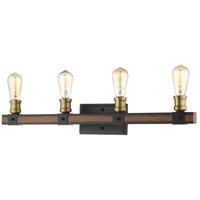 Z-Lite Steel Kirkland Bathroom Vanity Lights