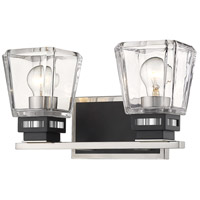 Z-Lite Steel Jackson Bathroom Vanity Lights