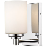 Z-Lite 485-1S-CH Soledad 1 Light 5 inch Chrome Wall Sconce Wall Light