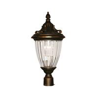 Z-Lite Waterloo 1 Light Post Light in Black Gold 504PHS-BG photo thumbnail