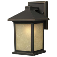 Z-Lite Holbrook 1 Light Outdoor Wall Light in Oil Rubbed Bronze 507B-ORB
