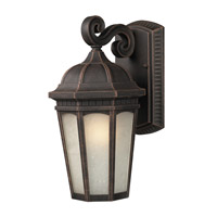 Z-Lite Newport 1 Light Outdoor Wall Light in Antique Bronze 508B-ABR