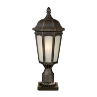 Z-Lite Newport 1 Light Post Light in Antique Bronze 508PHB-ABR-PM photo thumbnail