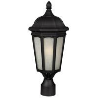 Z-Lite Newport 1 Light Outdoor Post Light in Black 508PHM-BK photo thumbnail