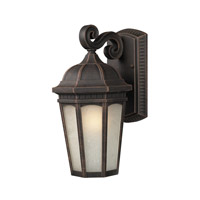 Z-Lite Newport 1 Light Outdoor Wall Light in Antique Bronze 508S-ABR