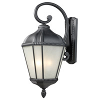Z-Lite Waverly 4 Light Outdoor Wall Light in Black 513B-BK