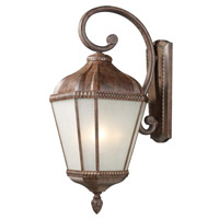 Z-Lite Waverly 4 Light Outdoor Wall Light in Weathered Bronze 513B-WB