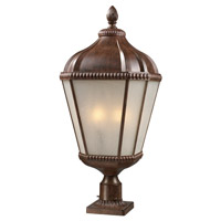 Z-Lite Waverly 4 Light Post Light in Weathered Bronze 513PHB-WB-PM photo thumbnail