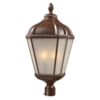 Z-Lite Waverly 4 Light Post Light in Weathered Bronze 513PHB-WB