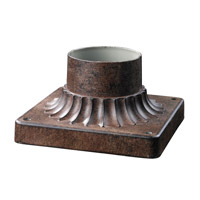 Z-Lite Signature Outdoor Pier Mounting in Weathered Bronze 521PM-WB
