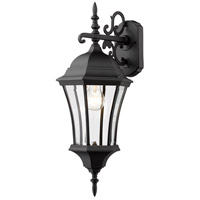 Z-Lite Wakefield 1 Light Outdoor Wall Light in Black 522M-BK photo thumbnail
