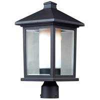 Z-Lite Mesa 1 Light Outdoor Post Light Head in Black 523PHB