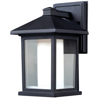 Z-Lite 523S Mesa 1 Light 11 inch Black Outdoor Wall Sconce