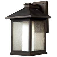 Z-Lite Mesa 1 Light Outdoor Wall Light in Oil Rubbed Bronze 524B