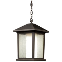Z-Lite 524CHB Mesa 1 Light 10 inch Oil Rubbed Bronze Outdoor Chain Mount Ceiling Fixture