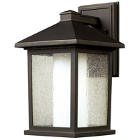 Z-Lite Mesa 1 Light Outdoor Wall Light in Oil Rubbed Bronze 524M