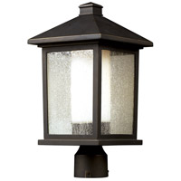 Z-Lite 524PHB Mesa 1 Light 19 inch Oil Rubbed Bronze Outdoor Post Mount Fixture