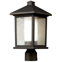 Z-Lite Mesa 1 Light Post Light in Oil Rubbed Bronze 524PHM