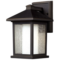 Z-Lite Mesa 1 Light Outdoor Wall Light in Oil Rubbed Bronze 524S