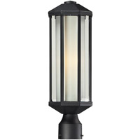 Z-Lite 525PH-BK Cylex 1 Light 19 inch Black Outdoor Post