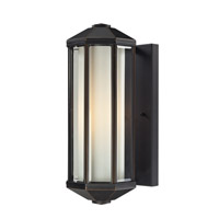 Cylex 1 Light 16 inch Oil Rubbed Bronze Outdoor Wall Light