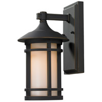 Z-Lite Woodland 1 Light Outdoor Wall Light in Oil Rubbed Bronze 528S-ORB