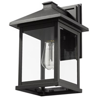 Z-Lite 531B-BK Portland 1 Light 16 inch Black Outdoor Wall Sconce alternative photo thumbnail