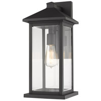 Z-Lite 531MXL-BK Portland 1 Light 18 inch Black Outdoor Wall Sconce