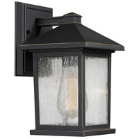 Z-Lite 531S-ORB Portland 1 Light 10 inch Oil Rubbed Bronze Outdoor Wall Sconce