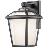Memphis 1 Light 20 inch Black Outdoor Wall Light
