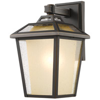 Z-Lite 532B-ORB Memphis Outdoor 1 Light 20 inch Oil Rubbed Bronze Outdoor Wall Sconce
