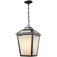 Z-Lite Memphis 1 Light Outdoor Chain Light in Black 532CHB-BK