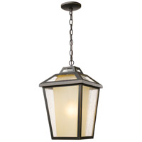 Z-Lite 532CHB-ORB Memphis Outdoor 1 Light 11 inch Oil Rubbed Bronze Outdoor Chain Mount Ceiling Fixture
