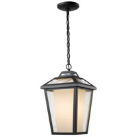 Z-Lite Memphis 1 Light Outdoor Chain Light in Black 532CHM-BK