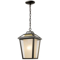 Z-Lite 532CHM-ORB Memphis Outdoor 1 Light 9 inch Oil Rubbed Bronze Outdoor Chain Mount Ceiling Fixture