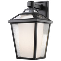 Memphis 1 Light 17 inch Black Outdoor Wall Sconce