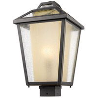 Z-Lite Memphis 1 Light Post Mount Light in Oil Rubbed Bronze 532PHBS-ORB