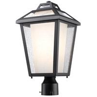 Z-Lite 532PHMR-BK Memphis 1 Light 18 inch Black Post Mount Light