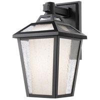 Z-Lite 532S-BK Memphis 1 Light 13 inch Black Outdoor Wall Sconce