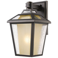 Z-Lite 532S-ORB Memphis Outdoor 1 Light 13 inch Oil Rubbed Bronze Outdoor Wall Sconce
