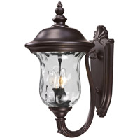 Z-Lite Armstrong 2 Light Outdoor Wall Light in Bronze 533M-RBRZ