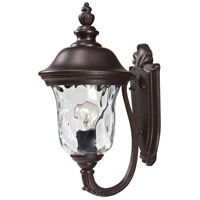 Z-Lite Armstrong 2 Light Outdoor Wall Light in Bronze 533S-RBRZ