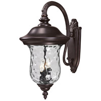 Z-Lite Armstrong 3 Light Outdoor Wall Light in Bronze 534B-RBRZ