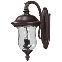 Z-Lite 534M-RBRZ Armstrong 2 Light 20 inch Bronze Outdoor Wall Sconce